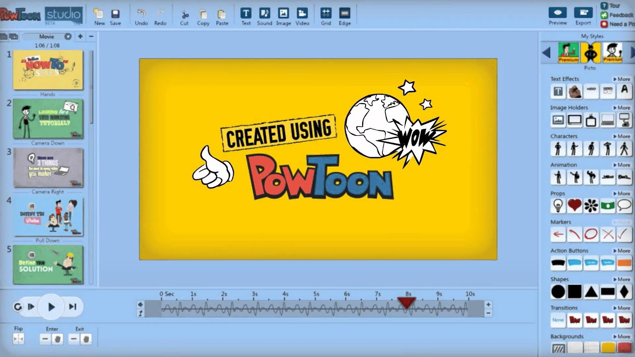 video powtoon