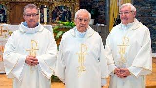 Gambar cover Bodas de Plata de la ordenación diaconal de Patricio, Luis y Carlos