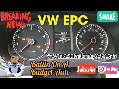 Volkswagen EPC Light Diagnosis