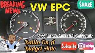 Volkswagen EPC Light Diagnosis: Throttle Body Replacement