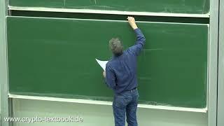 Vorlesung 14: Der Diffie-Hellman-Schlüsselaustausch und das DLP von Christof Paar