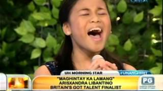 Unang Hirit: Britain's Got Talent finalist Arisxandra Libantino, LIVE sa UH