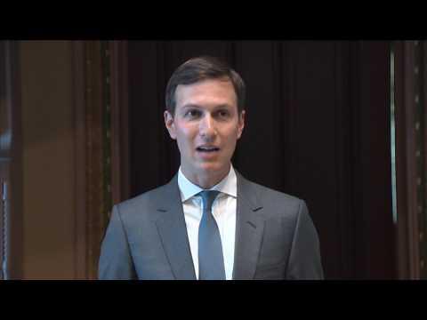 Jared Kushner makes remarks during Technology Week