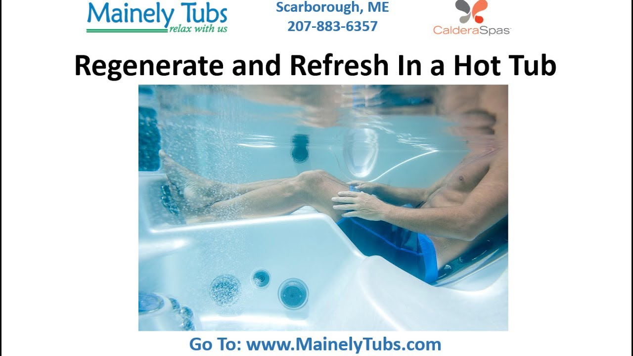 Hot Tubs Maine, Portable Spas By Hot Spring