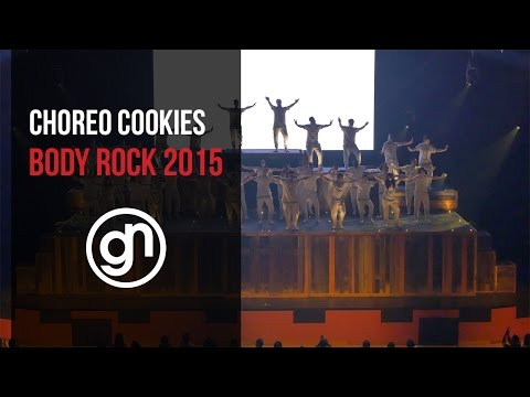 Choreo Cookies - Body Rock 2015 (Official 4K) @cookiessd @geraldnonadoez