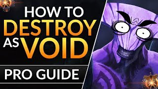 The ULTIMATE FACELESS VOID Guide: PRO Carry Tips to RANK UP and RAMPAGE | Dota 2 Guide