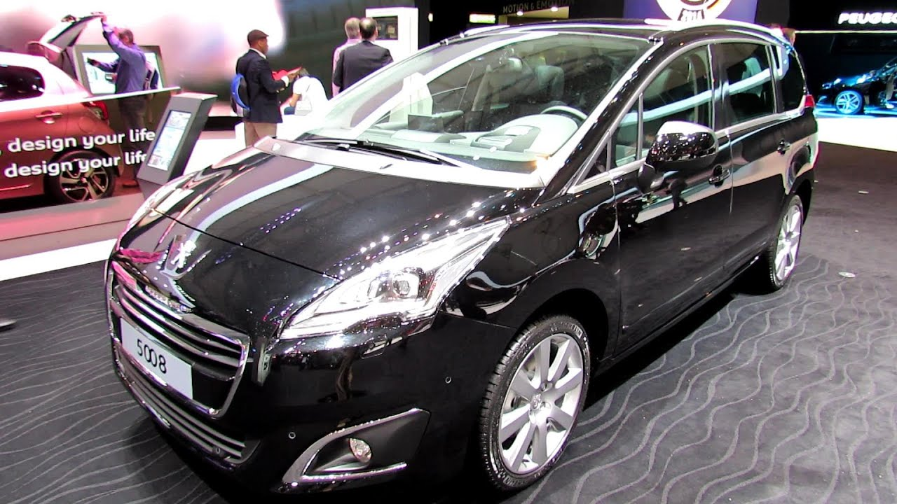 2014 peugeot 5008 allure exterior and interior walkaround 2014 geneva motor show youtube. Black Bedroom Furniture Sets. Home Design Ideas