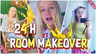 24 STUNDEN SUMMER ROOM MAKEOVER | MaVie Noelle Vlog Dekoration