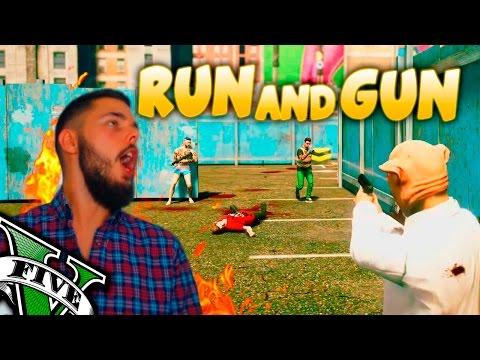 RUN AND GUN GTA V ONLINE | REPARTIENDO PLOMO A SACOO!!