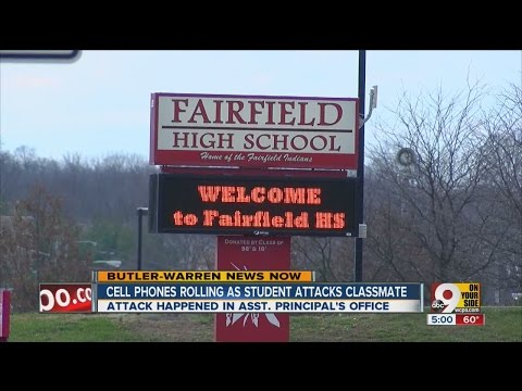 VIDEO: Fight breaks out in Fairfield High School assistant principal's office