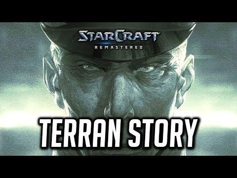 Starcraft Remastered: Complete Terran Storyline (Brood War Campaign)