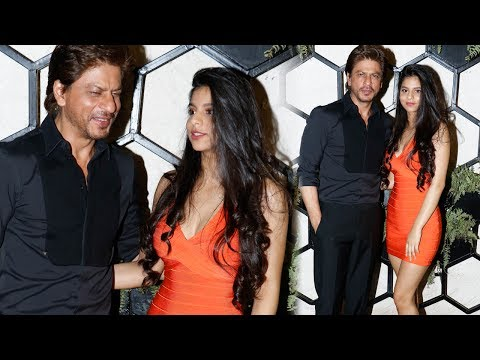 Thumbnail: Shah Rukh Khan With HOT Daughter Suhana Khan At Gauri Khan's Restaurant Launch