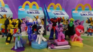 My Little Pony & Transformers   Happy Meal   McDonald's   Zabawki 2017