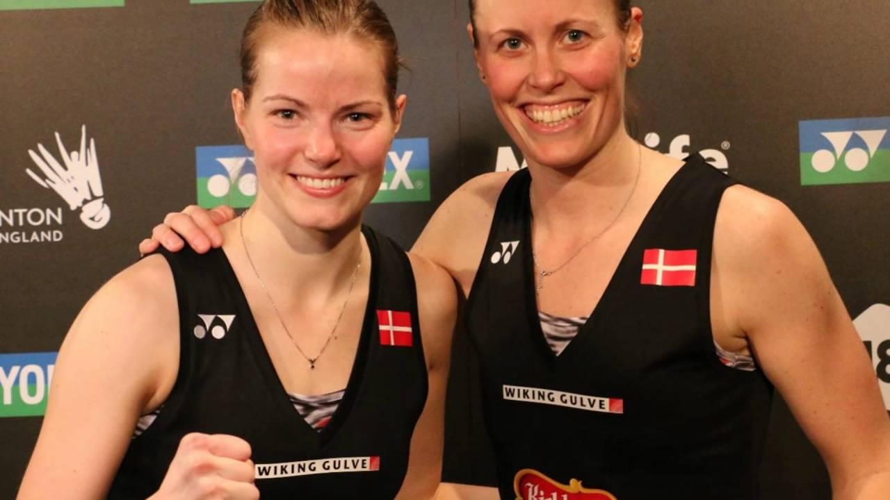 Christinna Pedersen and Kamilla Rytter Juhl wins SILVER medal