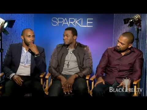 w the men of Sparkle  Mike Epps, Derek Luke, Omari Hardwick