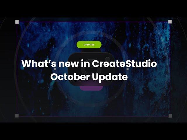 CreateStudio 1.6.0: Zoom & Pan Camera Effect Tutorial