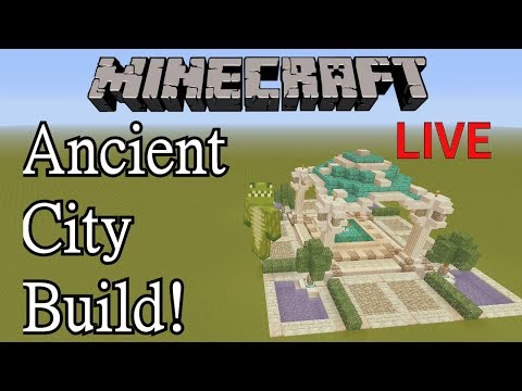 Ancient City Build - Minecraft Xbox One LIVE (Road to 10K)
