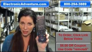 Original Sharp RRMCGB001WJPA Remote Control (GB001WJPA)NETFLIX & VUDU Buttons $5 Off Coupon
