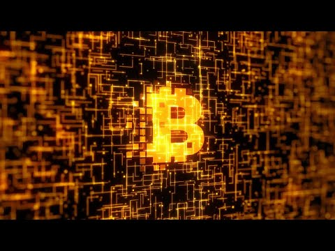 Bitcoin Logo Stock Motion Graphics