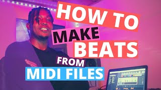 How to make a beat from midi files in any DAW