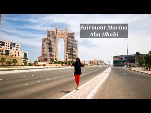 Corniche Road Presidential Palace Etihad Towers Fairmont Marina and Marina Mall Abu Dhabi UAE 🇦🇪