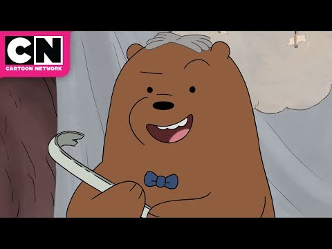 We Bare Bears | Crowbar Jones to the Rescue! | Cartoon Network