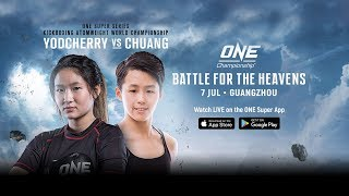 ONE Championship: BATTLE FOR THE HEAVENS | Full Event