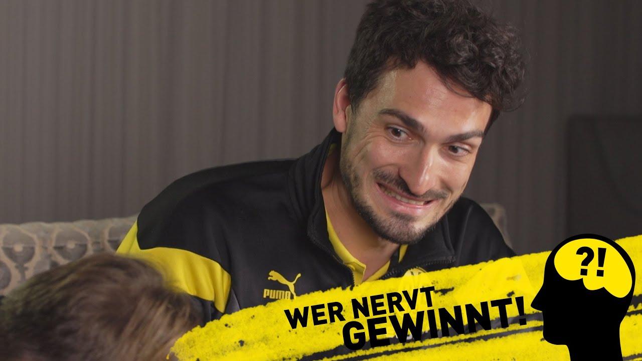 Wer nervt, gewinnt! | BVB-Challenge mit Mats Hummels & Marcel Schmelzer