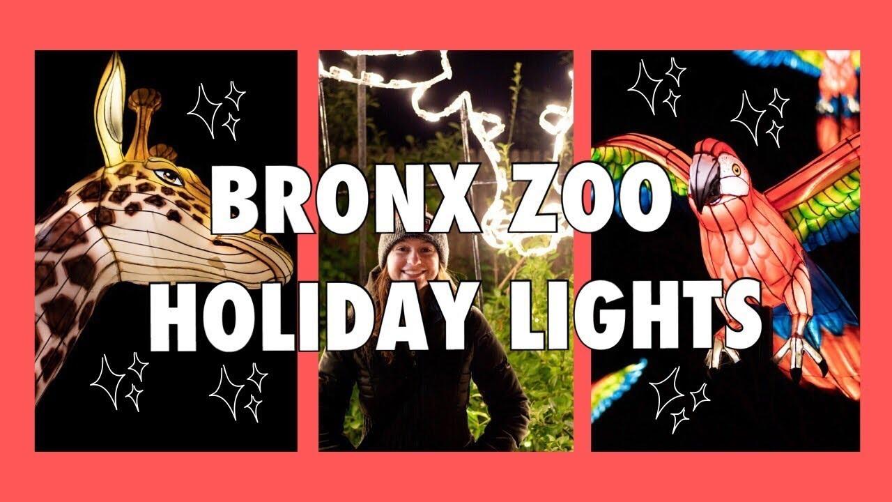 Bronx Zoo Holiday Lights 2019 - YouTube