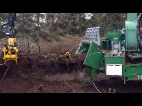NHS 450 - Claas Xerion 3800 -Haderup Skovservice,Woodchippers,Holzhacker,Flishugger,Déchiqueteuses