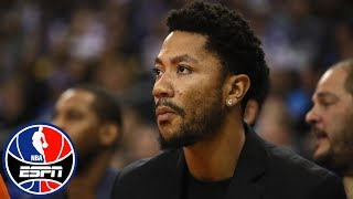 Woj: Derrick Rose right now 'doesn't have any offers' | NBA Countdown | ESPN thumbnail