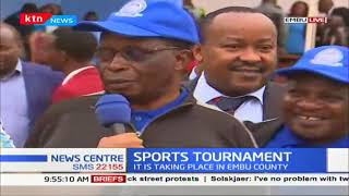 Interior CS Fred Matiang' i to preside over the opening of the water company sports tournament