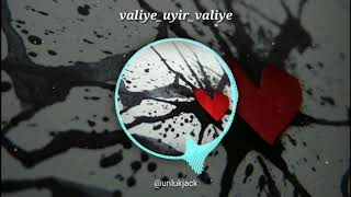 Valiye en uyir valiye | Dham Dhoom | love bgm | whatsapp status | melody |
