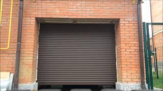 Рулонные ворота для гаража(Рольставни установленные в качестве ворот для гаража. Изготовление и установка всех видов ворот и рольстав..., 2014-10-23T17:48:41.000Z)