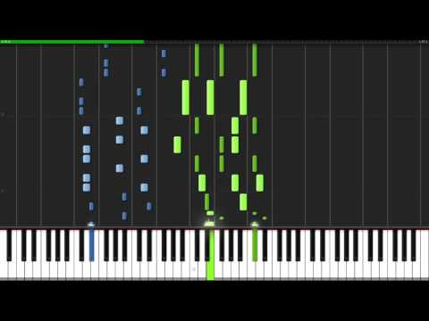 SAVE the World - Undertale [Piano Tutorial] (Synthesia)