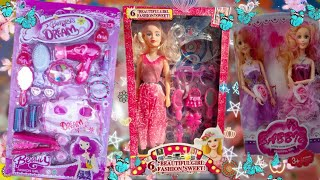 Barbie Dream Doll, Fashion Barbie Doll, Beautiful Makeup Set | Review And Unboxing Indian Toy Store|