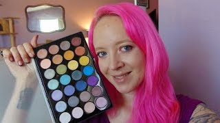 bh cosmetics 28 foil eyes shadow palette review swatches   plus bonus carli bybel palette