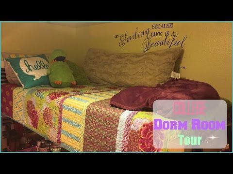 CSUSM COLLEGE DORM ROOM TOUR | Deyanira Del Valle ॐ