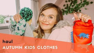 HUGE KIDS CLOTHING HAUL FOR AUTUMN & WINTER