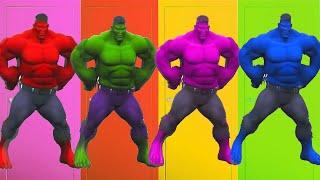 learn colors with hulk dance for kids 수지랑 재밌는 헐크 댄스 놀이 컬러 색깔 배우기 Littlejoy