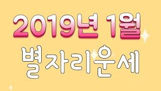 2019년 1월 별자리운세 [feat.점성술커뮤니티]