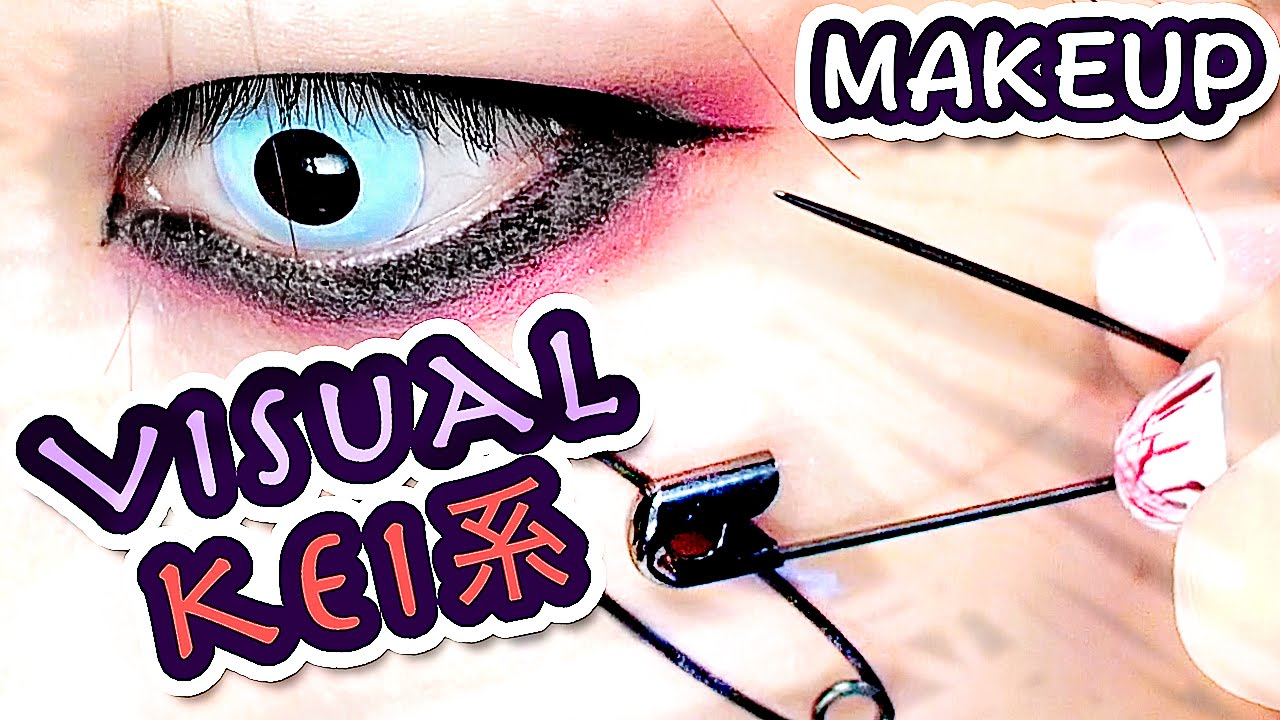 Vjapanese Visual Kei Makeup Tutorial Youtube