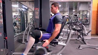 Сведение ног в тренажёре: техника и нюансы