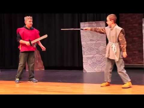Macbeth 2014 by Nelson Middle School sixth graders