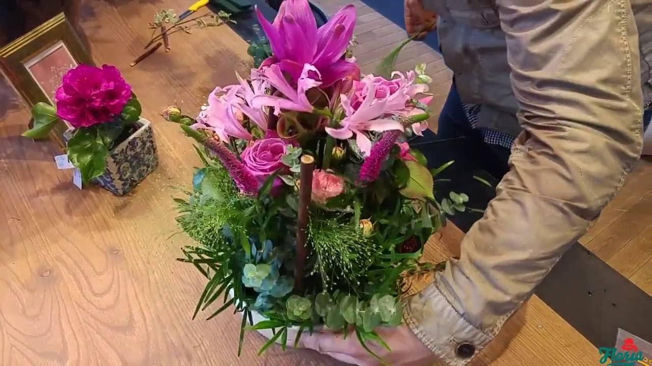 Cel Mai Rapid Aranjament Floral Pe Care Il Poti Face Youtube