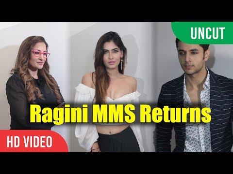 UNCUT - Karishma Sharma , Siddharth Gupta and Rakshanda Khan Interview | Ragini MMS Returns Show