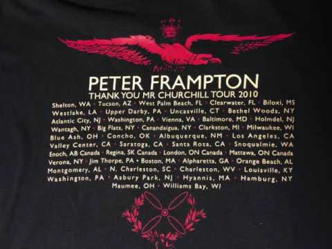 Peter Frampton 2010 Cape Cod Melody Tent Hyannis Ma