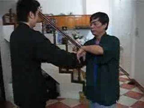 Ngo Gia Hoang Phap Wingchun ,SifuToan chisao with Mr . Diep Phuong