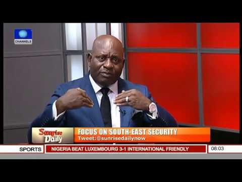 No Ideological Basis For The Sovereign State Of Biafra - Jerry Chukwueke Pt 3