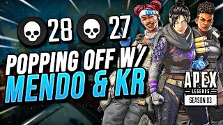 POPPING OFF WITH MENDO AND KINGRICHARD!